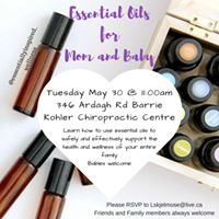 Essential Oils for Mom and Baby