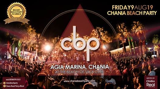 Chania Beach Party 2019 (Fri.9.8)