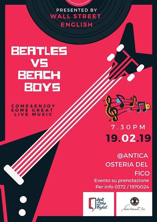 Beatles vs Beach Boys