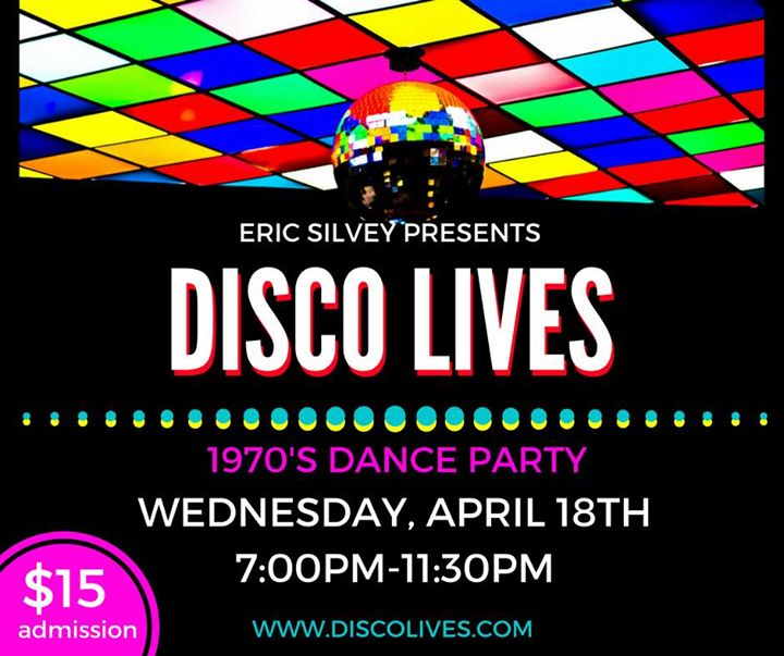 Disco Lives 1970s Dance Party
