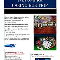 Wetumpka Casino DAY TRIP