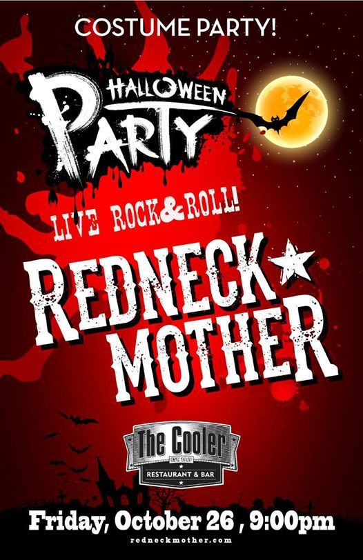 redneck mother halloween costume party at the cooler