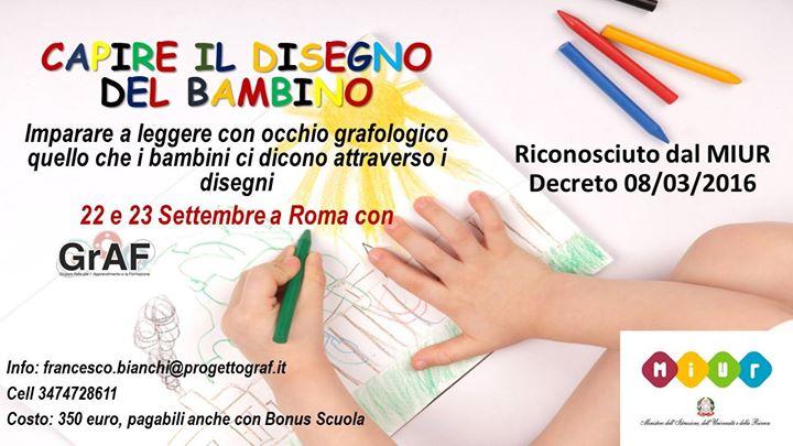 Capire il Disegno del Bambino a Roma con Progetto GRAF