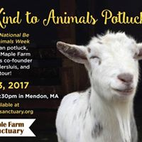 MFS &quotBe Kind to Animals Week&quot Vegan Potluck &amp Sanctuary Tour