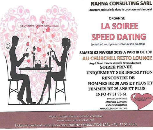 Speed dating 50 ans