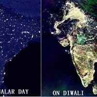 Diwali festival delle luci