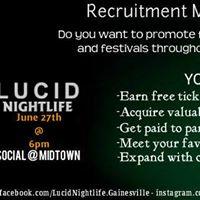 Lucid Summer B Recruitment Meeting