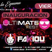 Ultimate FEST - Fiesta de la Espuma  Pablito Castillo