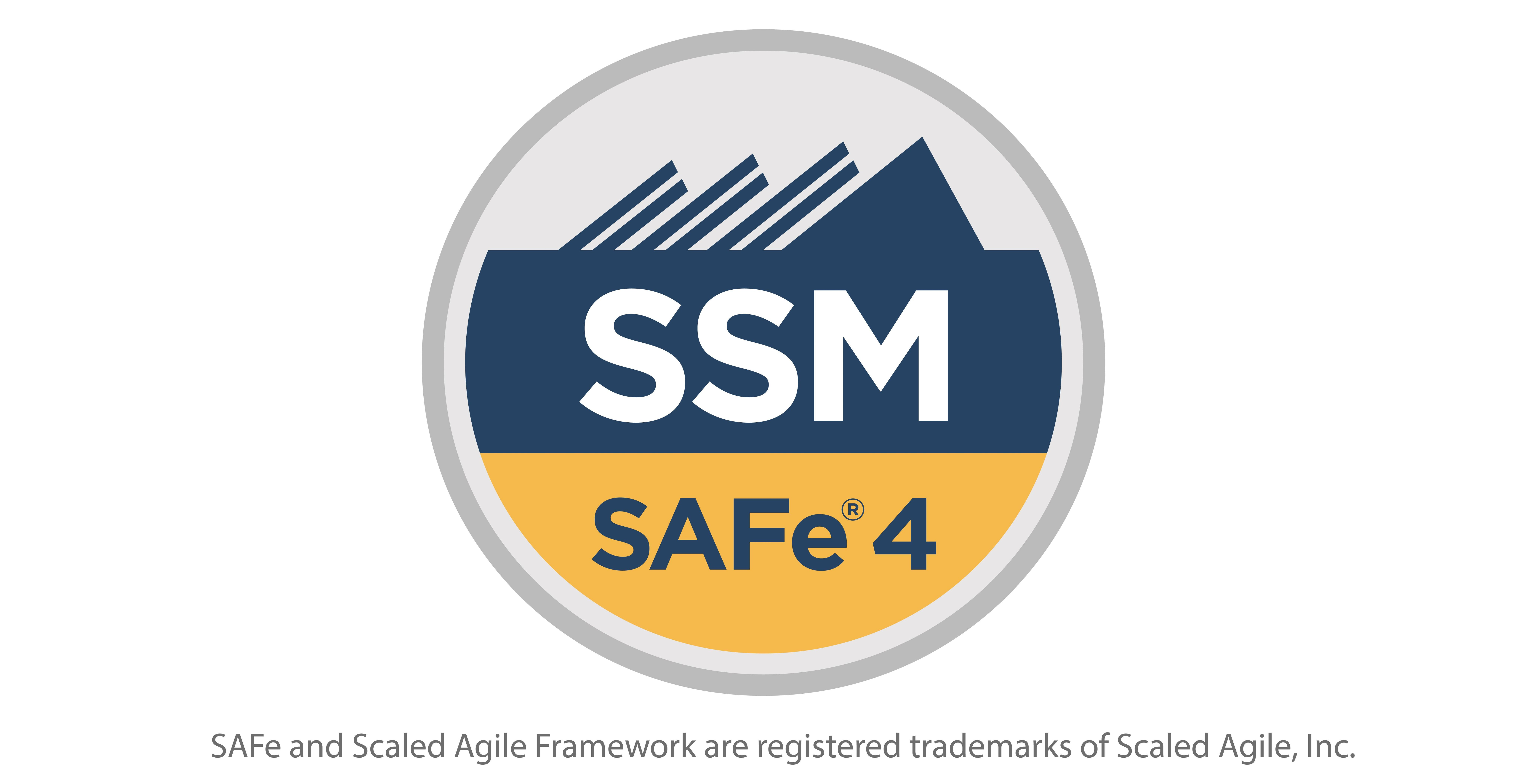Safe Scrum Master 45 With Ssm Certification Ssm At Mindrome