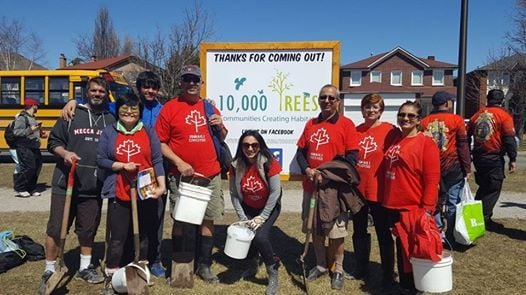 Ismaili CIVIC Earth Day Event - NorthEast Sector Tree Planting