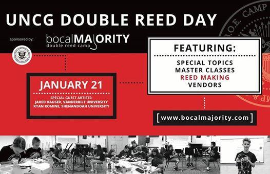 Double Reed Day at UNCG by Bocal Majority   Carolina