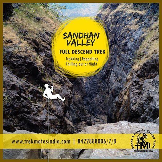 TMI Full Descend Trek to Sandhan Valley On 9th-10th Feb19.
