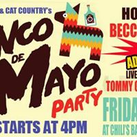 Chilis and Cat Country 96s Cinco De Mayo Party