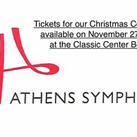 Tickets give away for The Athens Symphony Christmas Concert