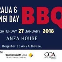 Australia &amp Waitangi Day BBQ