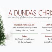 A Dundas Christmas An Evening of Dinner and Entertainment