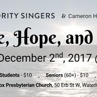 Age of Majority Singers Presents Peace Hope and Light