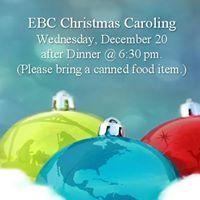 Emmaus Christmas Caroling
