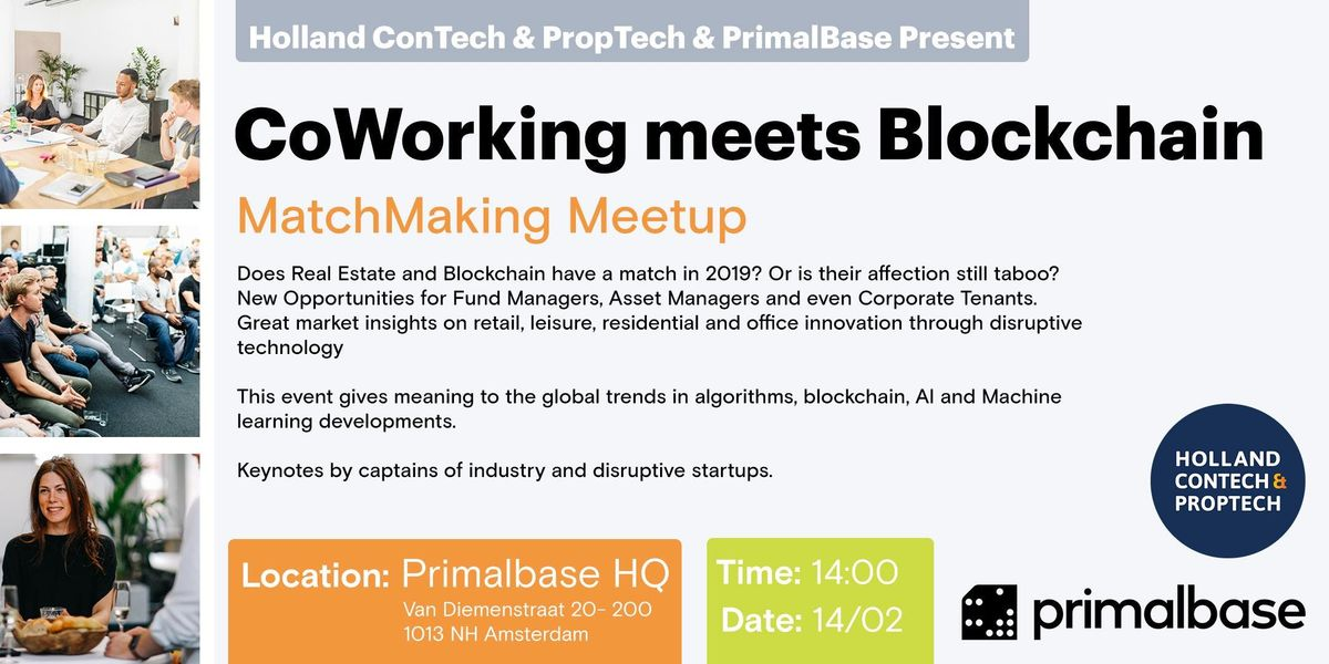 MatchMaking Meetup hosted by Primalbase