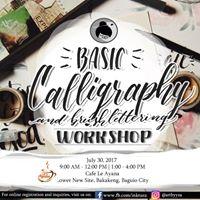 Basic Calligraphy and Brushlettering Workshop