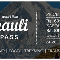 Khauli Pass - The Unforgotten trek