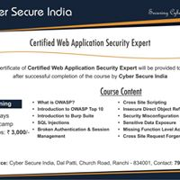 Bootcamp on Web Application Security