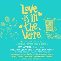 Sam 29.04 &gt Love is in the Verre  Merci Gertrude x PIP