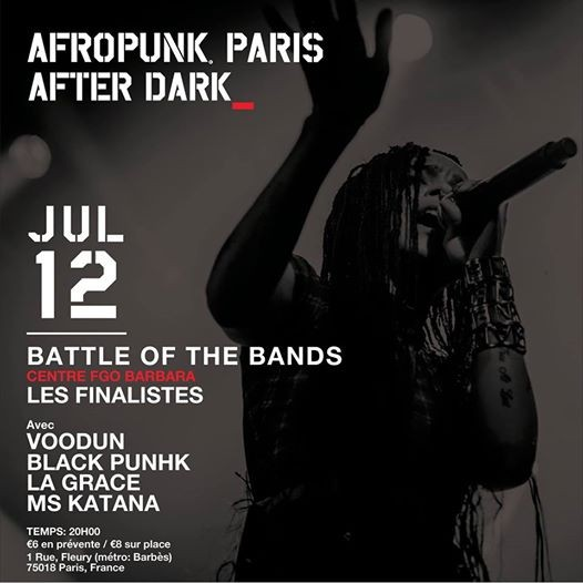 AFROPUNK Battle of the Bands Paris Finals 2018