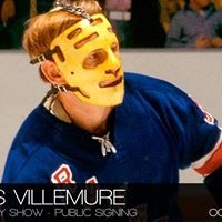 Gilles Villemure - The Hockey Show - Public Signing