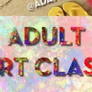 Adults art &amp creative class 5 1.30-3pm