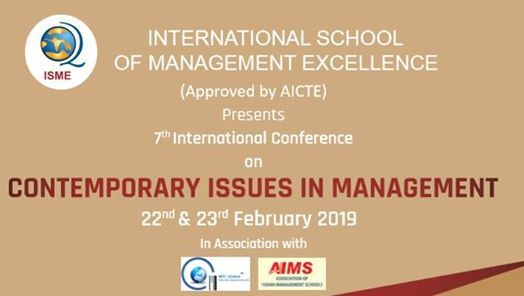 International Conference on Contemporary Issues In Management