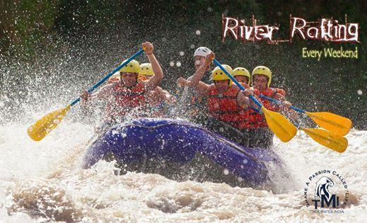 TMI River Rafting at Kolad in Monsoon On 11th Aug18.