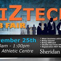 Sheridan Biztech Career Fair
