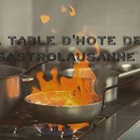 La Table dHte de GastroLausanne au Festival de la Cit