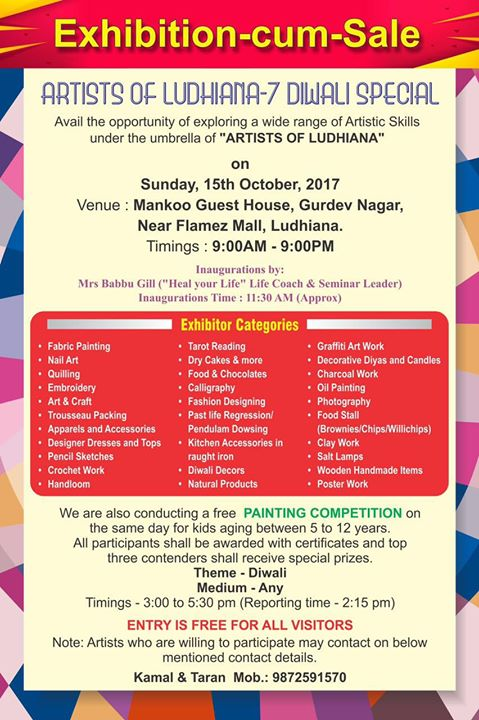 Artists Of Ludhiana - 7 Diwali Special at Mankoo Guest House