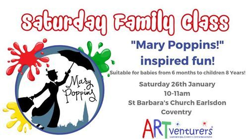 Saturday Family Class - Mary Poppins inspired Fun