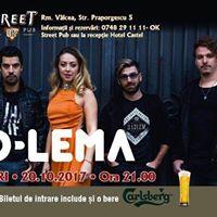 Descopera D-Lema la OkStreet Pub