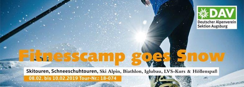 Fitnesscamp goes Snow mit Funfaktor