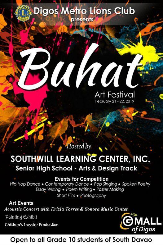 Buhat Art Festival 2019 at clockThursday, February 21, 2019