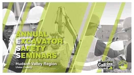 Hudson Valley Region (Ulster County) Excavator Safety Seminar