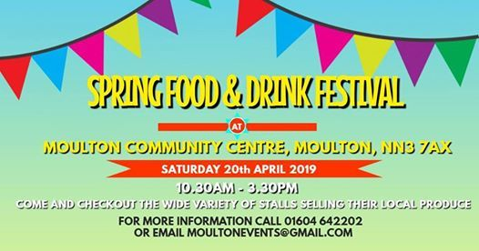 Food & Drink Festival - 20th April 2019