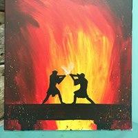 Battle at Mustafar Paint Event