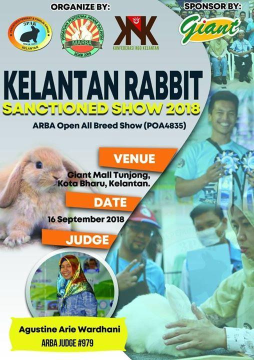 Kelantan Rabbit Sanctioned Show 2018 at Giant Malaysia (HS (D) 10170