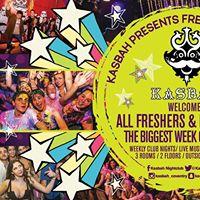 Kasbah Presents Freshers Week 2017
