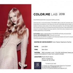 Kevin.Murphy Color.Me Lab 2018