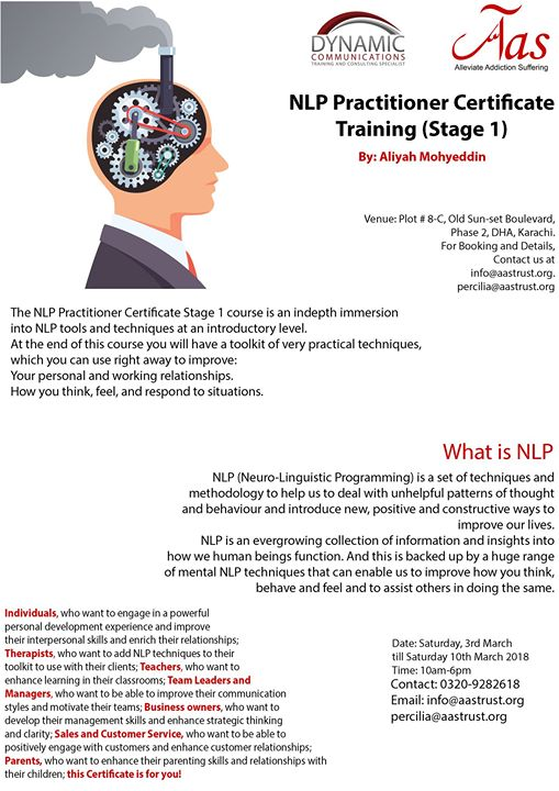 Neuro linguistic programming techniques dating