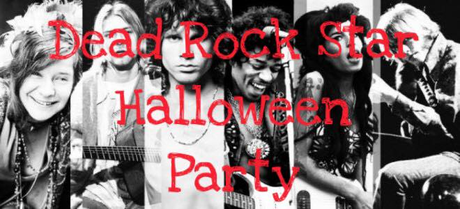 dead rock star halloween party at steel towne inn