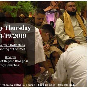 2019 Holy Thursday
