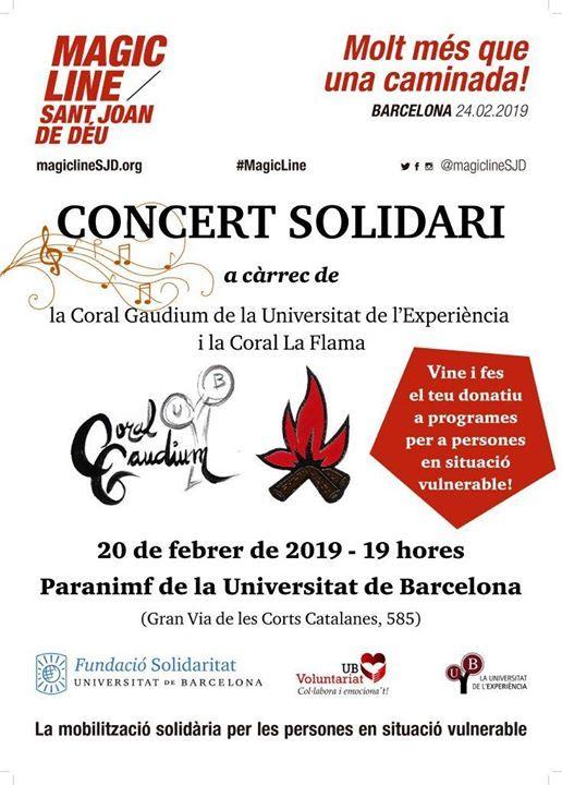 Concert Solidari per la Barcelona Magic Line