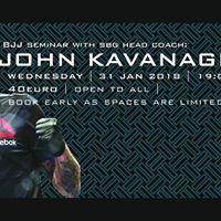 Coach John Kavanagh BJJ Seminar